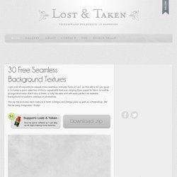 Free High Resolution Textures - Lost and Taken