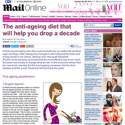 New Year resolutions: Anti-ageing diet that will help you drop a decade