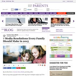 7 Media Resolutions Every Family Should Make in 2015