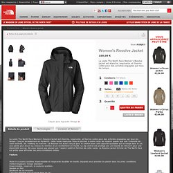 La veste The North Face Women's Resolve Jacket – Protection HyVent