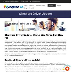 Slimware Driver Update