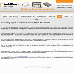 Resolving Space Issues with Sheet Metal Enclosures
