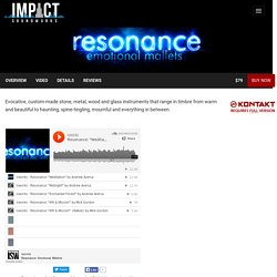 Resonance by Impact Soundworks (VST, AU, AAX)