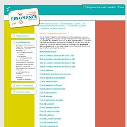 Resonance asbl - L'outil fiche par fiche interactif