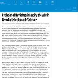 Evolution of Hernia Repair Leading the Way in Resorbable Implantable Solutions