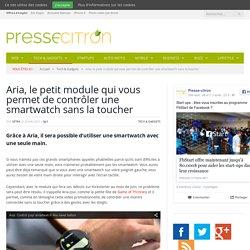 Ce petit module va peut-être résoudre le problème des smartwatch