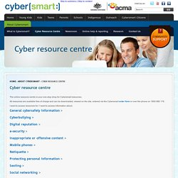 Cyber resource centre: Cybersmart