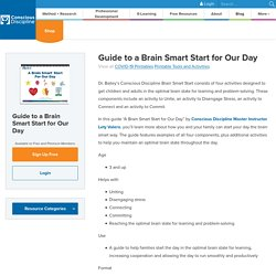 Resource: Guide to a Brain Smart Start for Our Day