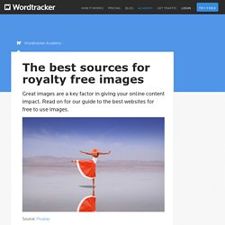 A resource for finding royalty free images : Wordtracker
