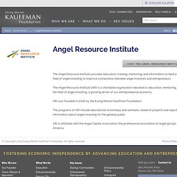 Angel Capital Education Foundation