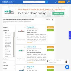 Find The Best Human Resource Management Software Online - HRMS Software
