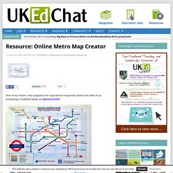 Resource: Online Metro Map Creator
