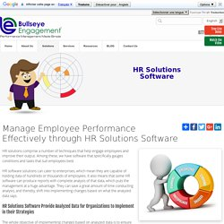 Best Human resource (HR) Software solutions
