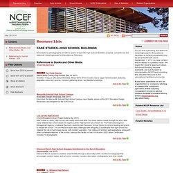 Resource List: Case Studies