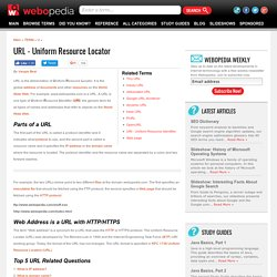 What is URL (Uniform Resource Locator)? Webopedia Definition