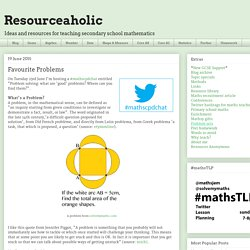 Resourceaholic: Favourite Problems