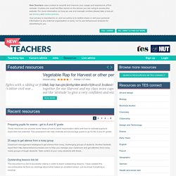 TES (New Teachers) Resources