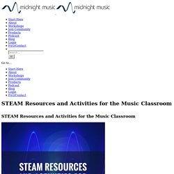 STEAM Resources and Activities for the Music Classroom