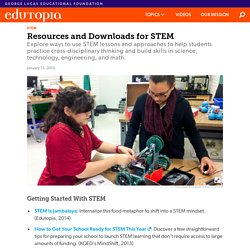 Resources and Downloads for STEM