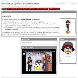 Resources for Arguments and Debates (Karen / 91)