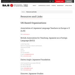 British Association for Japanese Studies