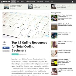 top-12-online-resources-for-beginners-learning-code