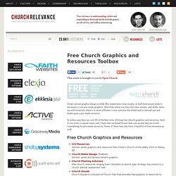Free Church Graphics and Resources Toolbox | churchrelevance