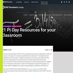 21 Pi Day Resources for your Classroom