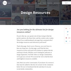 Design Resources – The Best Curated Collection For Designers