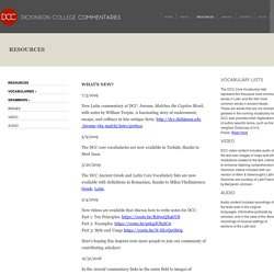 Dickinson College Commentaries