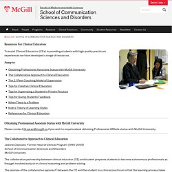 School of Communication Sciences and Disorders