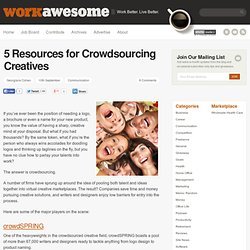 5 Resources for Crowdsourcing Creatives