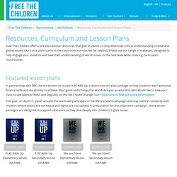 Resources, Curriculum and Lesson Plans