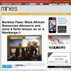 Burkina Faso: West African Resources découvre une zone à forte teneur en or à Mankarga-1