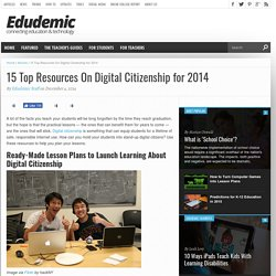 15 Top Resources On Digital Citizenship for 2014