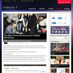 The Best Online Resources for Digital Marketing