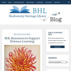 BHL Resources to Support Distance Learning