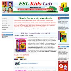 ESL Kids Ebook Packs , Resources to download for Parents, Teaching Kids, Ebooks, ESL PPT, Powerpoint