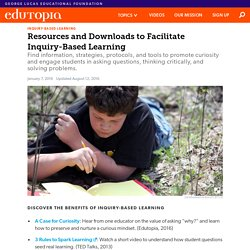 Resources and Downloads to Facilitate Inquiry-Based Learning