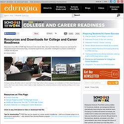 Resources and Downloads for College and Career Readiness