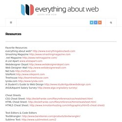 everything about web