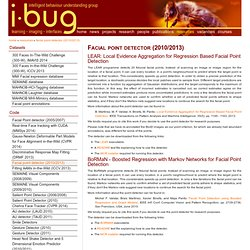 i·bug - resources - Facial point detector (2010/2013)