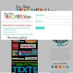 Free Resources for Non-Fiction Texts - One Stop Teacher Shop