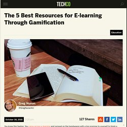 The 5 Best Resources for E-learning Through Gamification