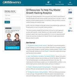 22 Resources To Help You Master Growth Hacking Analytics