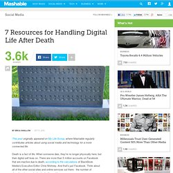 7 Resources for Handling Digital Life After Death