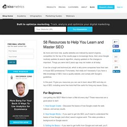 58 Resources to Help You Learn and Master SEO