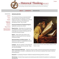 The Historical Thinking Project