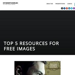 Top 5 Resources for Free Images