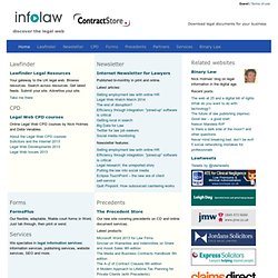 infolaw - gateway to the UK legal web